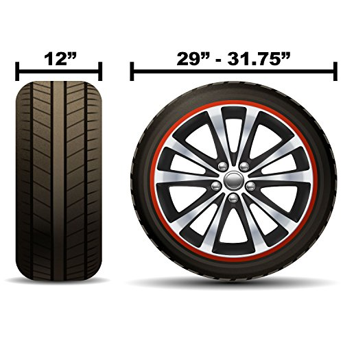 Tcp Global Set Of 2 Waterproof Vinyl Rv Wheel Amp Tire