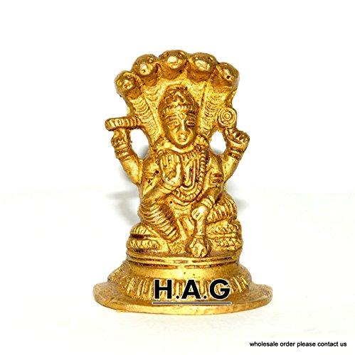 Nautical World Brass Old Vishnu, Hindu God Antique Original Collectible Statue Figure