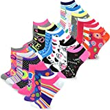 TeeHee Women's Fashion No Show Fun Socks 18 Pairs Packs (Love Peace)  9-11