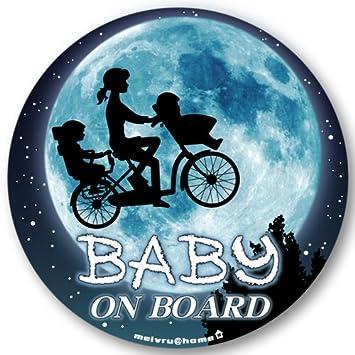 4dde052c2b7ed  マグネット ママチャリ☆ BABY IN CAR マグネット ステッカー BABY ON BOARD 赤ちゃんが乗っ