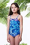 6 Years Old Girls One-Piece Swimsuit Summer Quick