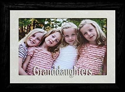 Amazon.com - 5x7 JUMBO ~ GRANDDAUGHTERS ~ Landscape Picture Frame ...