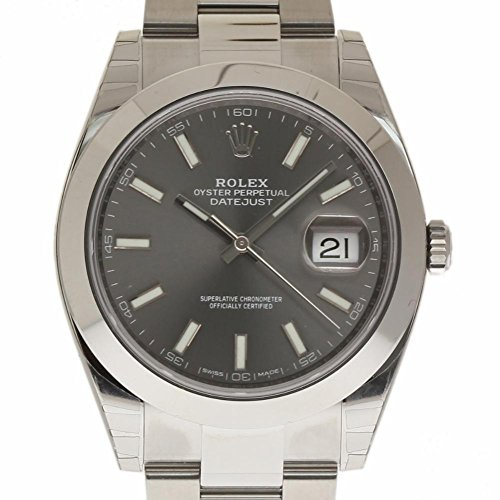 Rolex Datejust II swiss-automatic mens Watch 126300 (Certified Pre-owned)