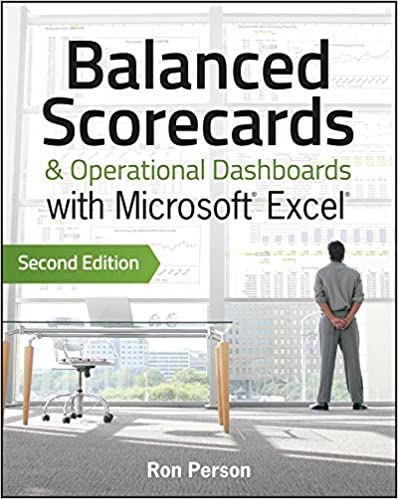 Amazon Com Balanced Scorecards And Operational Dashboards With Microsoft Excel Ebook Person Ron Kindle Store