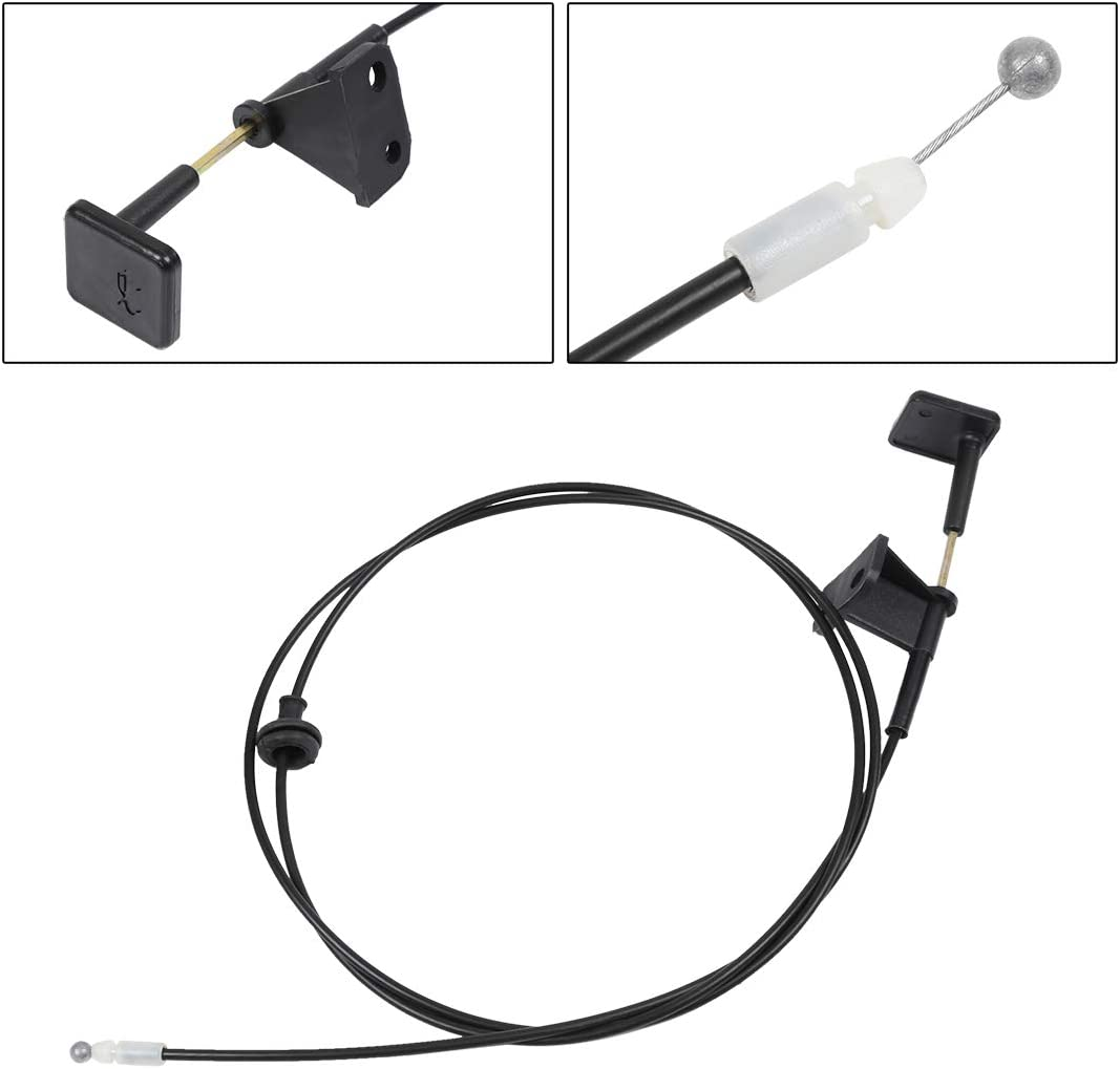 X AUTOHAUX Engine Hood Release Cable for 2001-2005 Honda Civic 74130-S5D-A01ZA