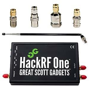 NooElec HackRF One Software Defined Radio (SDR), ANT500 & SMA Antenna Adapter Bundle