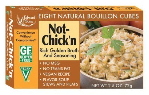 Edward & Sons Bouillon Cubes Not-Chick'n -- 2.5 oz by Edward & Sons ()