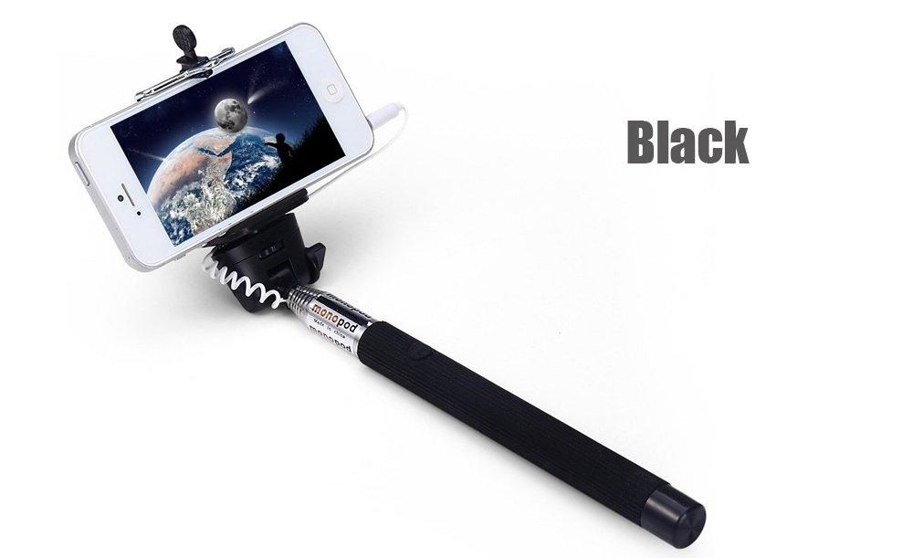 Selfie Monopod Smart Phone 3.5mm jack Auto Portrait Arm for iPhone 6 PLUS 5S 4S
