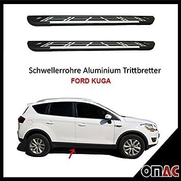 Potenciador tubos aluminio pedalada Tablas para Ford Kuga 2008 - 2013 Sunrise (183): Amazon.es: Coche y moto
