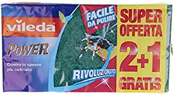 Vileda 136957 Power 2 More 1 Sanding Sponge