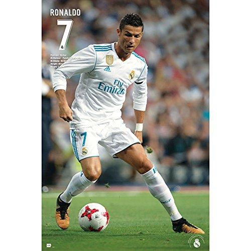 Grupo Erik editores gpe5184–Poster 2017/2018with Design Real Madrid Ronaldo, 61x 91.5cm