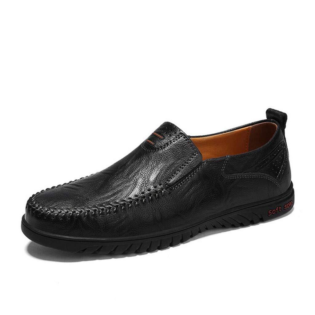 XxoSchuhe Männer Loafer Slip-on Schuhe Kissen Rutschfeste Echtes Leder Fashion Driving Boat Turnschuhe Casual Walking Leistung Kleid Schuhe