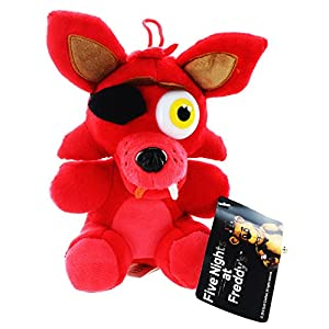 "FNAF FOXY FOX 10"" PLUSH DOLL 1pcs - 51ySIlvhxkL - Five Nights at Freddy's Foxy Fox 10 inches Plush Doll"