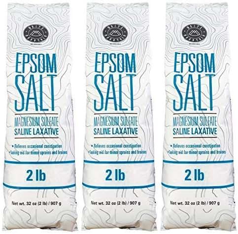White Mountain Epsom Salt, 2 lbs (Pack of 3)