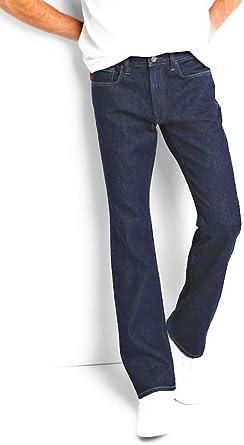 Amazon Com Gap Pantalones Vaqueros Para Hombre 1969 Enjuague Oscuro Ajuste De Bota No Elastico Clothing
