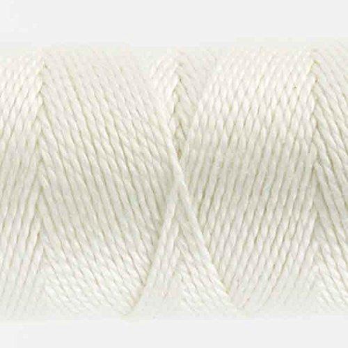 (WonderFil Specialty Threads Sue Spargo Eleganza 2-ply #5 Perle Cotton solids, Snow Globe)