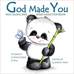 Amazon childrens catholic book for boys god made you watercolor god made you watercolor illustrated bible verses catholic books for kids in all departments catholic books in books catholic easter basket stuffers in negle Choice Image
