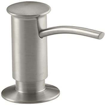 Kohler K 1895 C Bn Soap Or Lotion Dispenser With Contemporary Design