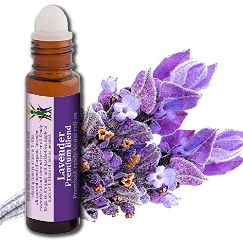 Aromata Lavender Calm Natural Essential Oil Blend Roll-on, 10ml (Where To Buy Artificial Tree)