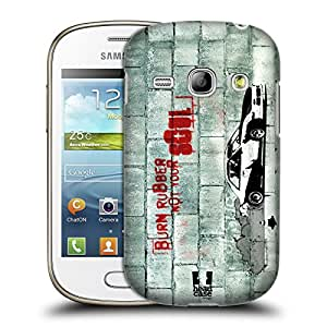 Head Case Designs Burning Rubber Christian Rider Hard Back Case for Samsung Galaxy Young S6310