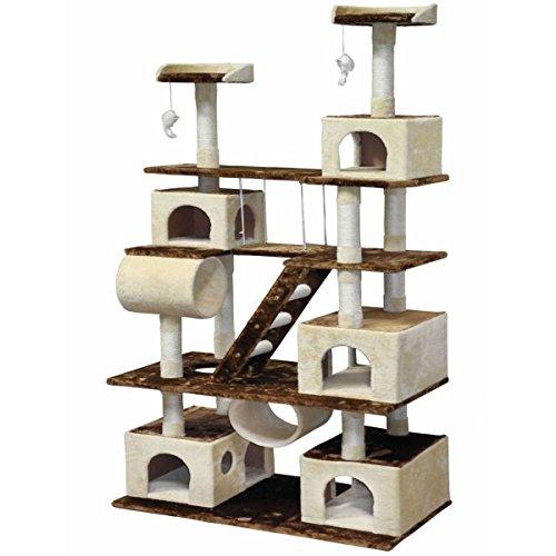 GoPetClub Huge Cat Tree Condo