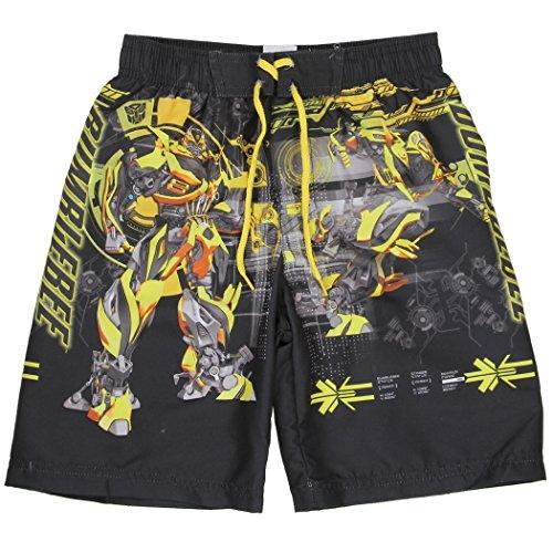 Transformers Little Boys' Bumblebee Swim Trunks (5/6) (Bumblebee Suit)
