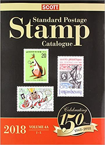Scott 2018 Standard Postage Stamp Catalogue Volume 4
