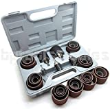 45pc SANDING ROUND DRUM SET for WOODWORKING DRILL PRESS SANDER SLEEVES TOOL