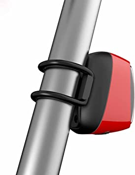 Luces Traseras Bicicleta, Recargable USB Luces traseras, Inteligente Luces de la cola de la bici LED parpadeante bicicleta luz trasera, MeiLan X6 USB Luces traseras con iluminación sensor y movimiento sensor: Amazon.es: