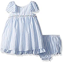 Laura Ashley London Baby Girls' Bow Sleeve Party Dress