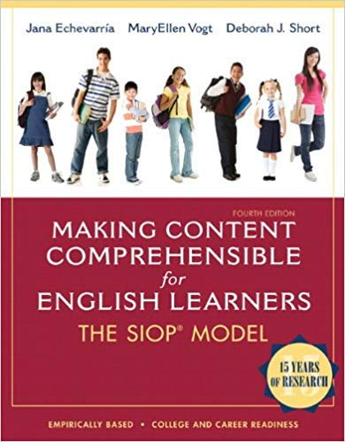 - [0132689723] [9780132689724] Making Content Comprehensible for English Learners: The SIOP Model (4th Edition)-Paperback