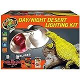 Amazon Com Zoo Med Combo Deep Dome Dual Lamp Fixture