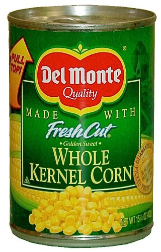 15oz Del Monte Whole Kernel Corn Security Container by Can - Mixed Corn