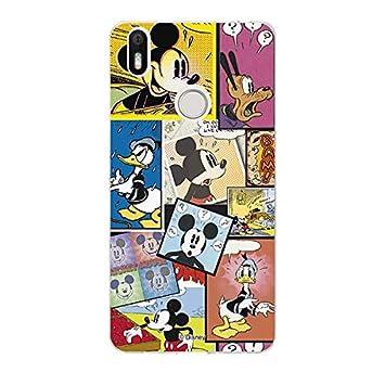 La Casa de Las Carcasas Carcasa Oficial Disney Mickey, Comic Bq Aquaris X Pro