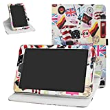 Galaxy Tab A 8.0 2018 Rotating Case,Bige 360 Degree Rotary Stand with Cute Pattern Cover for Samsung Galaxy Tab A 8.0 2018 Model SM-T387 Verizon/Sprint Tablet (Not fit Tab 8.0 T380 2017),Goddess