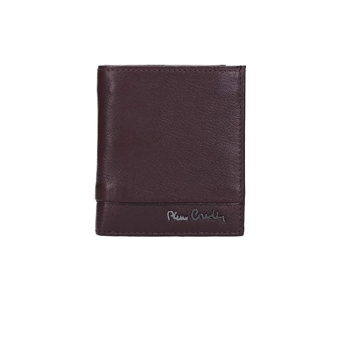 Mini cartera hombre vertical PIERRE CARDIN bordeaux piel Monedero y solapa VA2720: Amazon.es: Ropa y accesorios