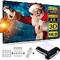 Electop Projector Screen 120 inch Outdoor Indoor
