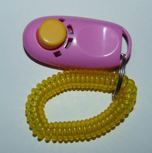 Button clicker wrist Clicker training