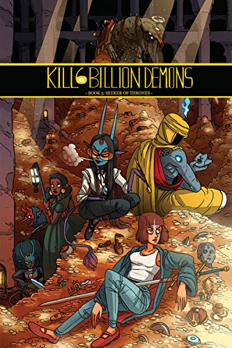 Kill 6 Billion Demons Book 3 por Tom Parkinson-Morgan