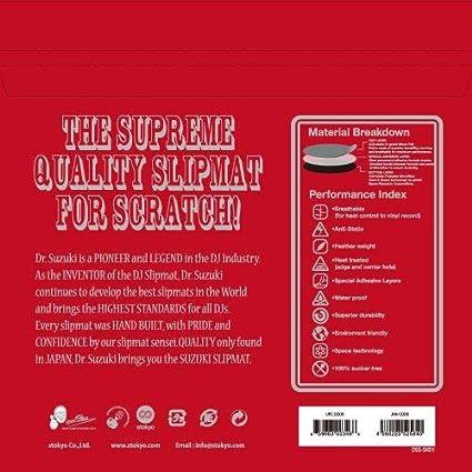 Suzuki Slip Slipmats Skratch 12 Dr