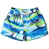 F_Gotal Men's Swimming Trunks Quick Dry Board Shorts Beach Surfing Swimming Shorts Boxer Briefs Swimwear Bathing Suits