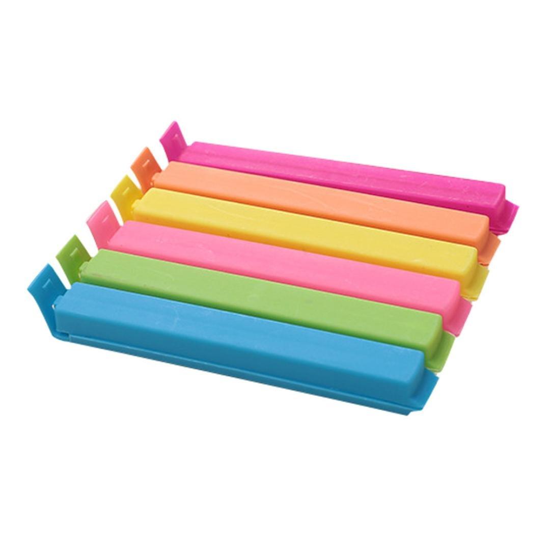 Gessppo 5pcs/set Plastic Food bag Storage Clips Kitchen Tool