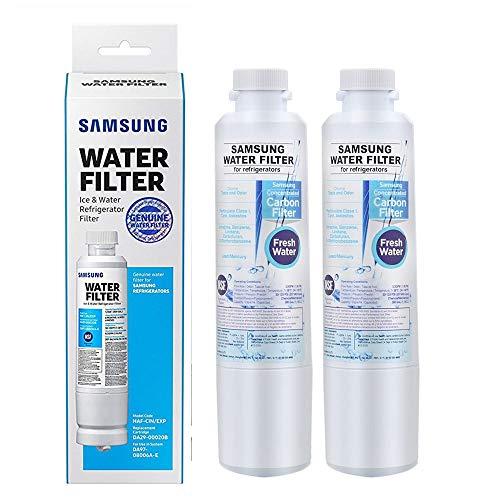Price comparison product image Samsung Premium Genuine Refrigerator Water Filter Replacement DA29-00020B,  DA29-00020A,  HAF-CIN EXP (2-Pack)