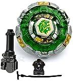 JJQ-TOYS Battling Fusion 4D Spinning Top Game Toy Fang Leone Metal Fury 4D BB-106 High Performance Generic Battling Top BB106 Gyro Toy + Launcher + Grip