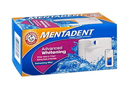 Mentadent Tthpst Adv Whitning Mint 3.5 Oz ()