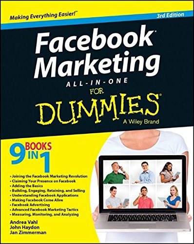 Price comparison product image Facebook Marketing All-in-One For Dummies