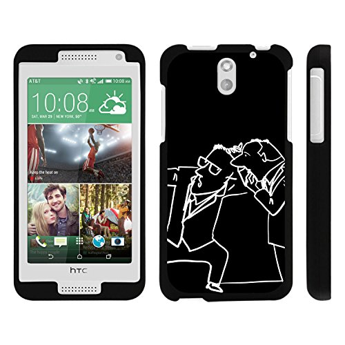 HTC Desire 610 Phone Case, Perfect Fit Snap on Cell Phone Case Superhero Design Series for HTC Desire 610 and 612 by Miniturtle® - Curious Men - Htc Desire 610 Super Hero Case