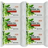 Facial Tissue Kleenex - Epielle Green Tea Makeup Removing Tissues 30ct (6 Pack)