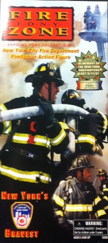 10 Scale Action Figure (1/6 Scale Official 9-11 FDNY New York City Fire Department Firefighter 12