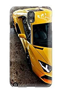 Premium QWSSCGU61wGzwY Case With Scratch-resistant/ Lamborghini Aventador Car Case Cover For Galaxy Note 3